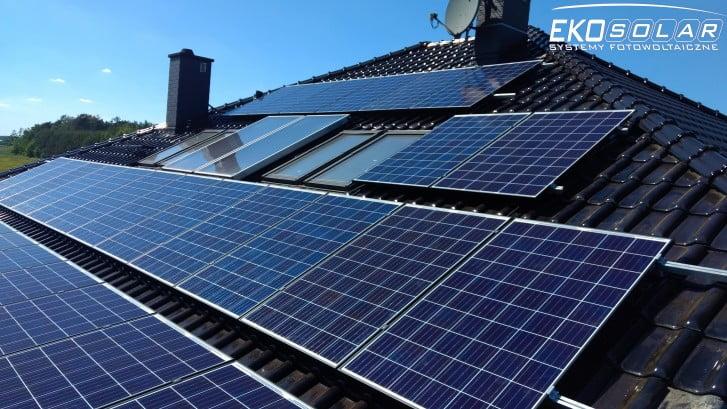 Domowa elektrownia słoneczna Eko-Solar